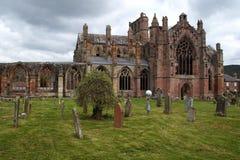 St Mary`s Abbey - Scotland Stock Photo