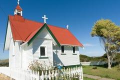 St Mary's Anglican Church, Waikawa. Stock Photo