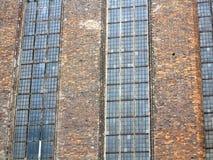 St. Mary's Basilica brick church Gdansk, Poland Royalty Free Stock Images