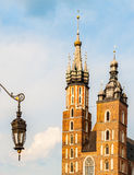 Basilica in Krakow, Poland Stock Images