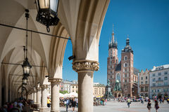 St. Mary's Basilica, Kraków, Poland, Europe. Royalty Free Stock Photography
