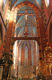 St. Mary's Basilica, Krakow, Royalty Free Stock Image