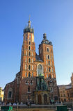 St. Mary's Basilica in Krakow Royalty Free Stock Photo