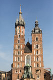 St. Mary's Basilica, Krakow, Poland Royalty Free Stock Images
