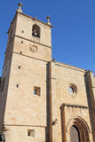 St. Mary's cathedral CAceres , Extremadura, royalty free stock image