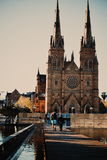 St Mary's Cathedral Church Sydney Stock Image
