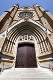 St Mary's Cathedral Entrance Door Royalty Free Stock Photo