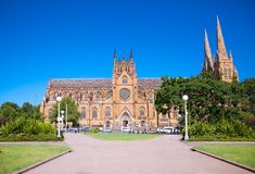 Free St. Mary`s Cathedral In Sydney ,Australia Royalty Free Stock Images - 86198429