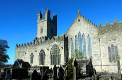 St. Mary's Cathedral Limerick City Ireland. On a bright winters day Stock Photo