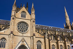 St. Mary's Cathedral, Sydney Royalty Free Stock Images