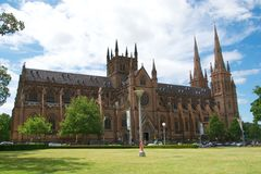 St Mary s Cathedral, Sydney, Australia Stock Image