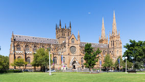 St. Mary's Cathedral in Sydney, Australia Stock Photo
