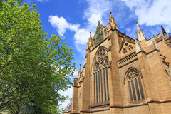 St Mary's Cathedral. Sydney, NSW Australia Royalty Free Stock Images