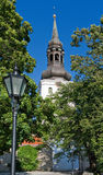 St. Mary's Cathedral of Tallinn Stock Images
