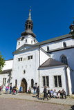 St Mary's Cathedral of Tallinn Stock Photo
