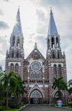 St. Mary's Cathedral in Yangon, Myanmar, Aug-2017 stock photography