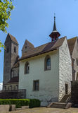 St. Mary's Chapel, Rapperswil Stock Photos