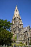 St. Mary's Church in Ambleside. A view of the beautiful St. Marys church in Ambleside, Cumbia Royalty Free Stock Photography
