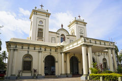 St. Mary's Church, Bambalapitiya, Sri Lanka Royalty Free Stock Image