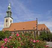 St. Mary's Church in Berlin. St. Mary's Church (Marienkirche) in Berlin, Germany Stock Photography