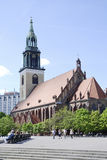 St, Mary's Church in Berlin Stock Images