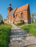 St. Mary's church in Brandshagen, Northern Germany Royalty Free Stock Image
