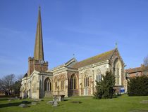 Free St Mary`s Church, Bridgwater Stock Images - 112392824