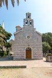 St. Mary's Church in Budva, Montenegro Royalty Free Stock Photo