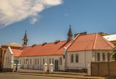 St. Mary`s church building in Jeppestown, South Africa Stock Photo