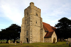 St Mary's Church Burham Stock Image