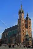 St. Mary's Church, famous landmark in Krakow, Poland Stock Photo