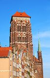 St. Mary's Church, Gdansk, Poland. St. Mary's Church in old town of Gdansk, Poland Stock Image