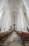St. Mary's Church in Gdansk Stock Photo