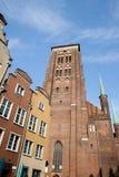 St. Mary's Church in Gdansk. St. Mary's Church (Polish: Bazylika Mariacka) in Gdansk, Poland, Old Town city landmark Royalty Free Stock Photography