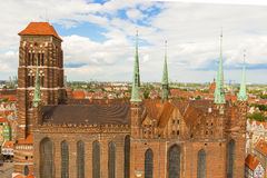 St. Mary's church, Gdansk Royalty Free Stock Image
