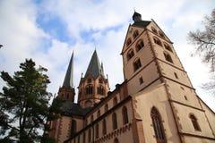 St. Mary s Church Gelnhausen in Gelnhausen, Hesse, Germany. St. Mary s Church Gelnhausen in Gelnhausen, Hesse Germany royalty free stock photos