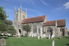 St marys church hailsham in east sussex royalty free stock images