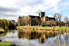 St Mary`s Church, Haddington, East Lothian. St Mary`s Church in Haddington, East Lothian. Set on the banks of the River Tyne Royalty Free Stock Photo
