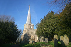 St Mary's church, Harrow Royalty Free Stock Images