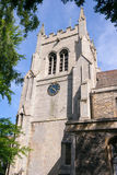 St Mary`s Church in Huntingdon Stock Images
