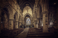 In St Mary's church Royalty Free Stock Photo