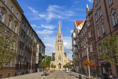 St. Mary's Church (Kosciol Mariacki) in Katowice, Poland Royalty Free Stock Photo
