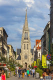 St. Mary's Church (Kosciol Mariacki) in Katowice, Poland Royalty Free Stock Image