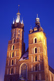 St. Mary's Church in Krakow Royalty Free Stock Photo