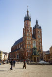 St. Mary's Church, Krakow Stock Image