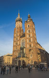 St Mary's Church in Krakow Royalty Free Stock Photo