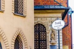 St. Mary's church Mariacki Church, Krakow , Poland Stock Image