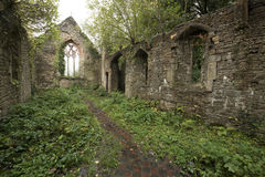 St. Mary's Church near Tintern Abbey Stock Photo