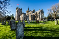 St Mary`s Church Ottery St Mary In Devon Royalty Free Stock Photo