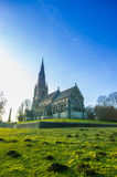 St Mary's church at Ripon, Uk. St Mary's church in the deer park in ripon Royalty Free Stock Photography